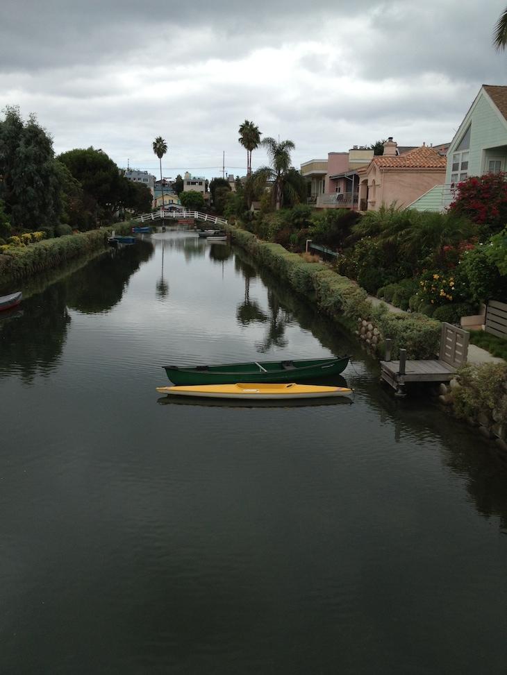 Canais de Venice, Los Angeles © Viaje Comigo