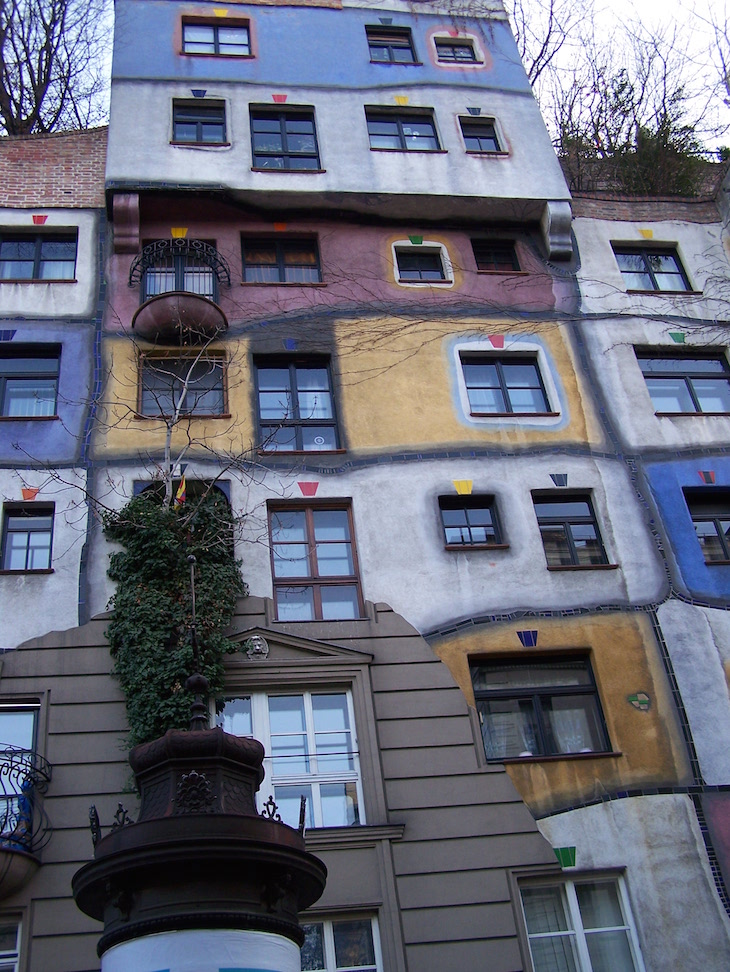 Hundertwasserhaus - Viena