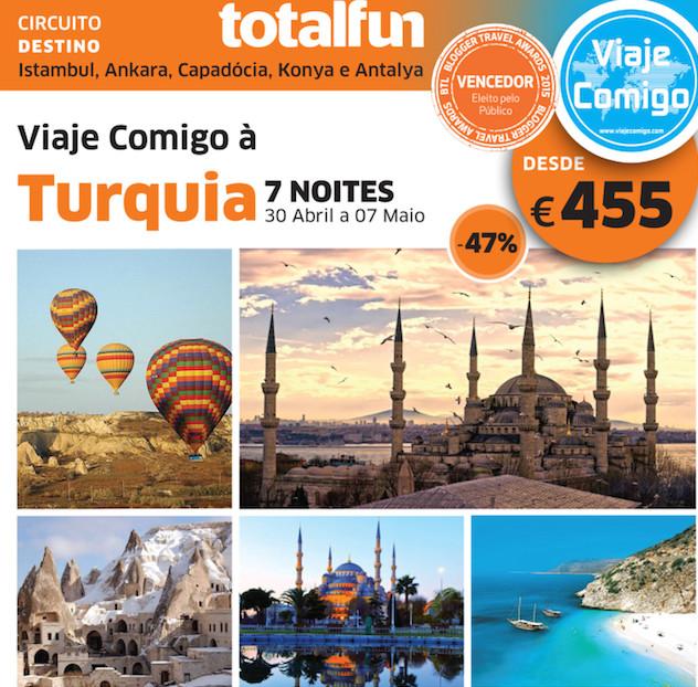 Viaje Comigo à Turquia