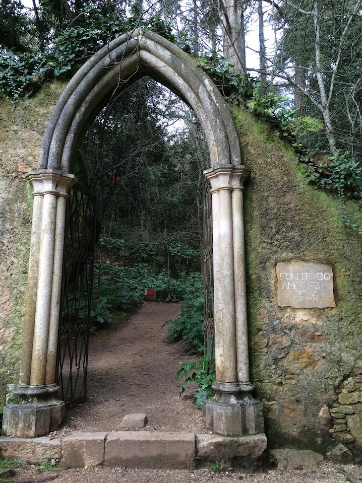 Fonte dos Amores e Arcada, Quinta das Lágrimas, Coimbra