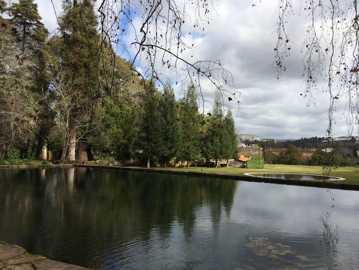 Lago que vem da Fonte das Lágrimas, na Quinta das Lágrimas, Coimbra