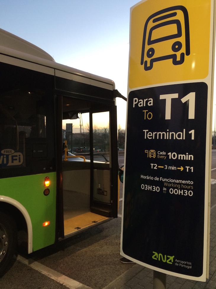 Shuttle Aeroporto Lisboa - Terminal 2