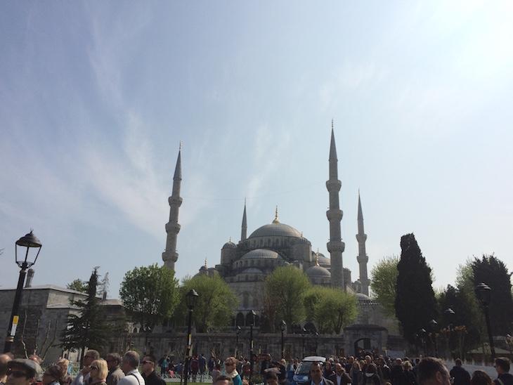 Vista da Hagya Sofia - Istambul © Viaje Comigo