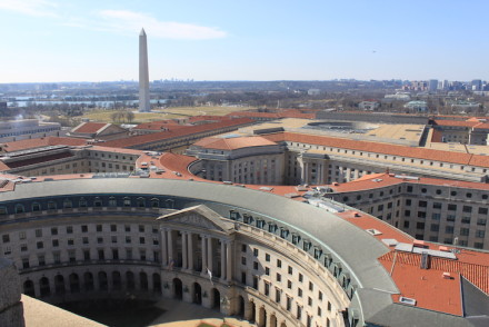 Vista do antigo posto dos correios em Washington DC © Viaje Comigo