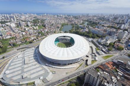 Arena Fonte Nova. Salvador. Crédito para Portal da Copa