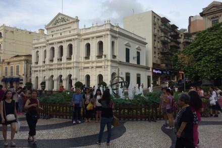 Largo do Senado Macau © Viaje Comigo