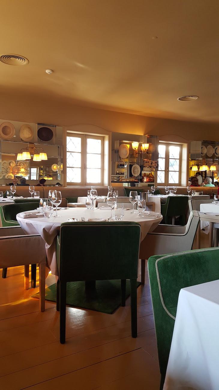 Sala do Restaurante Wish © Viaje Comigo