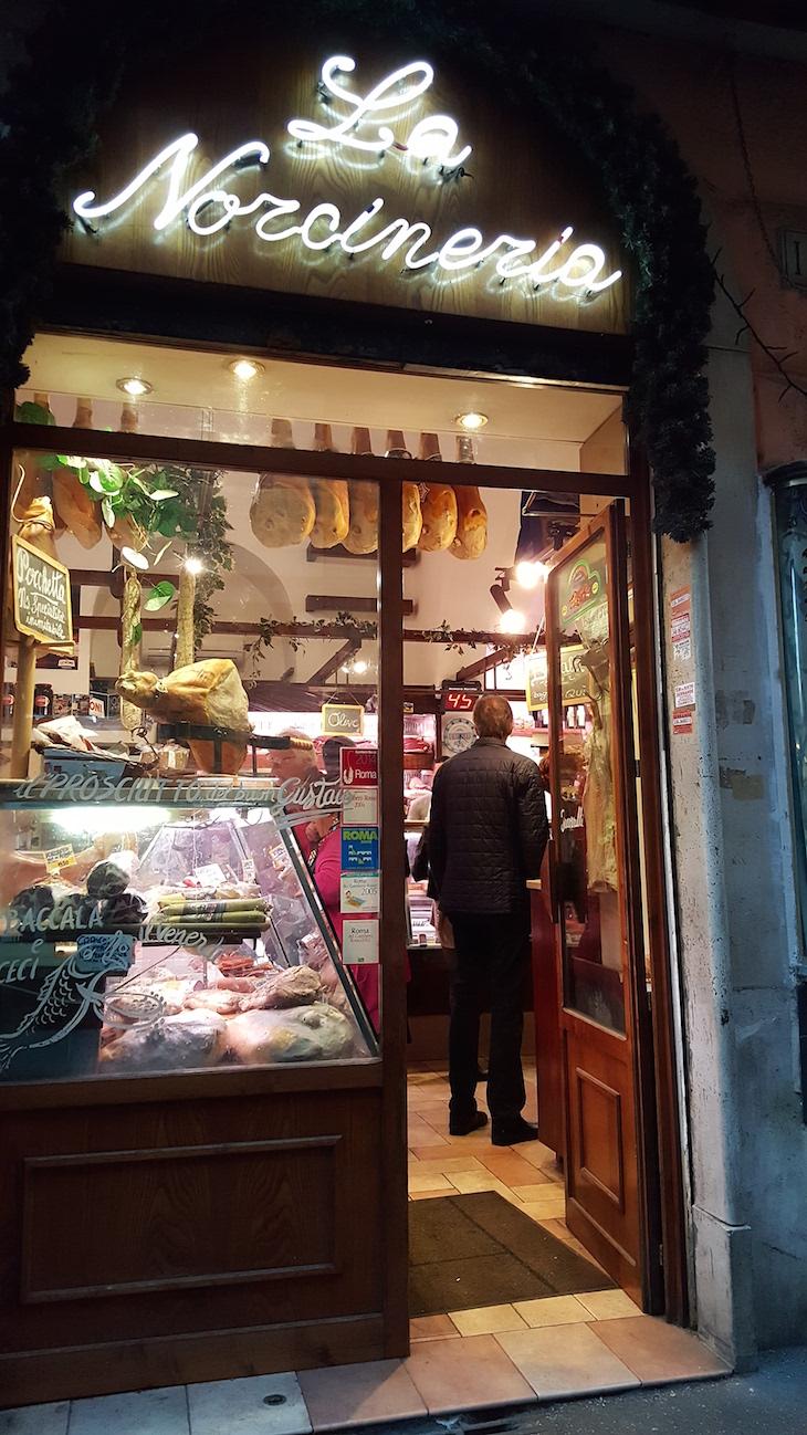Entrada da Antica Norcineria, Trastevere Food Tour,Roma © Viaje Comigo