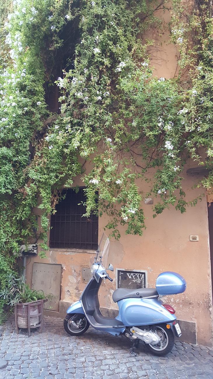 Pelas ruas de Trastevere, no Food Tour,Roma © Viaje Comigo