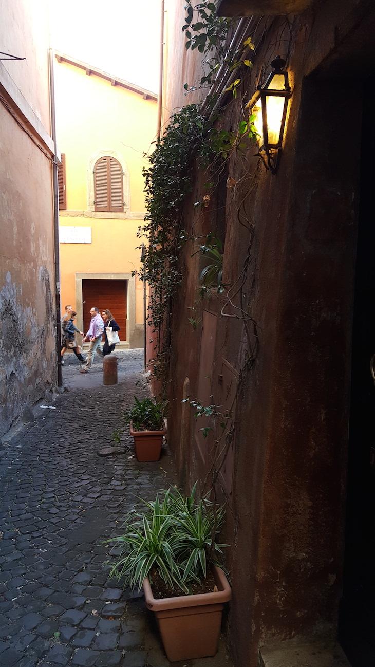Rua de Trastevere, Food TourRoma © Viaje Comigo