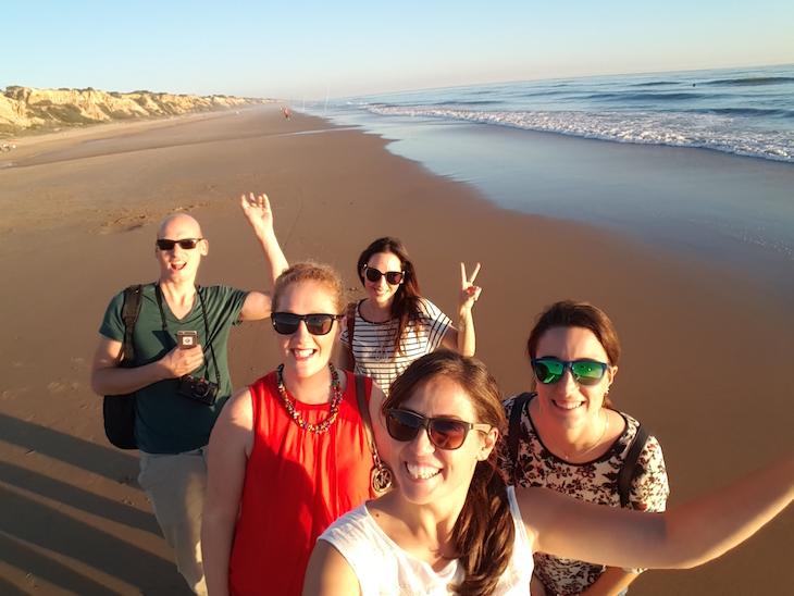 Bloggers amigos em Huelva © Viaje Comigo