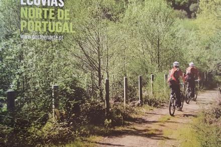 """Livro """"Ciclovias, Ecopistas e Ecovias do Norte de Portugal"""""""
