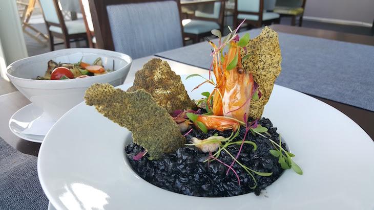 Risoto Negro de Marisco, Restaurante Maria Pia, Cascais © Viaje Comigo