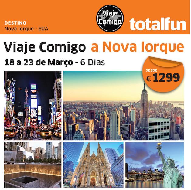 Viaje Comigo - Nova Iorque
