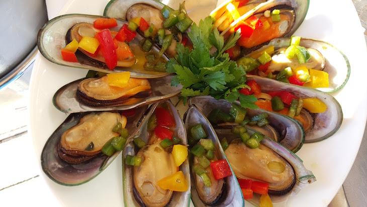 Mexilhão no Restaurante Fish Fixe © Viaje Comigo