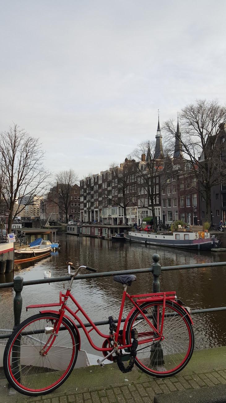 As bicicletas de Amesterdão © Viaje Comigo