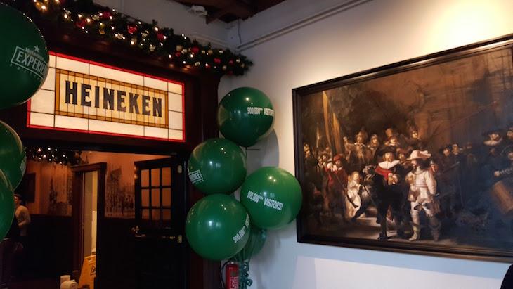 Entrada da Heineken Experience em Amesterdão © Viaje Comigo