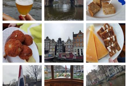 Passeio nos canais com o Eating Amsterdam Jordaan Tour © Viaje Comigo