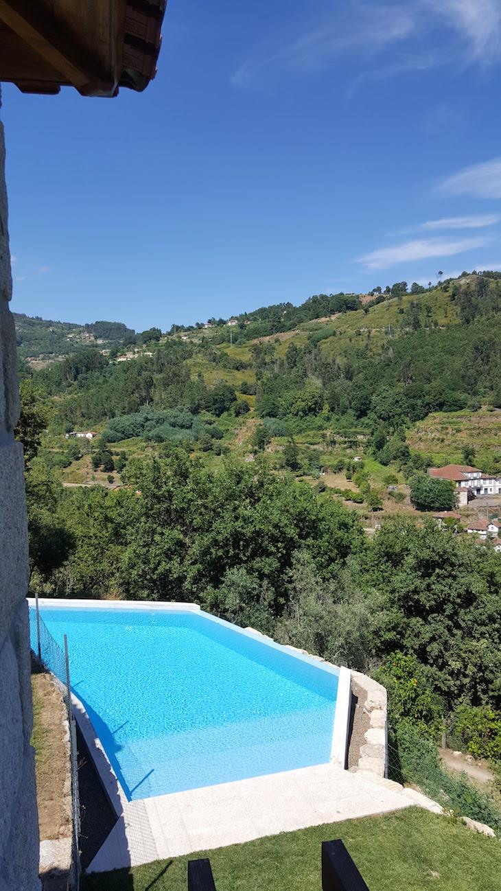 Piscina da Casa do Sobreiro, Quinta da Bouça © Viaje Comigo
