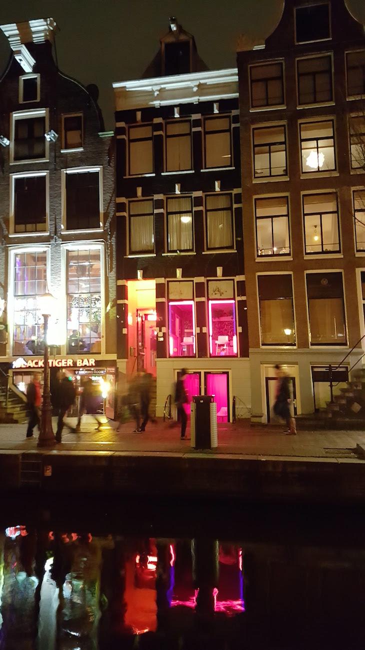 Red Light District em Amesterdão © Viaje Comigo5