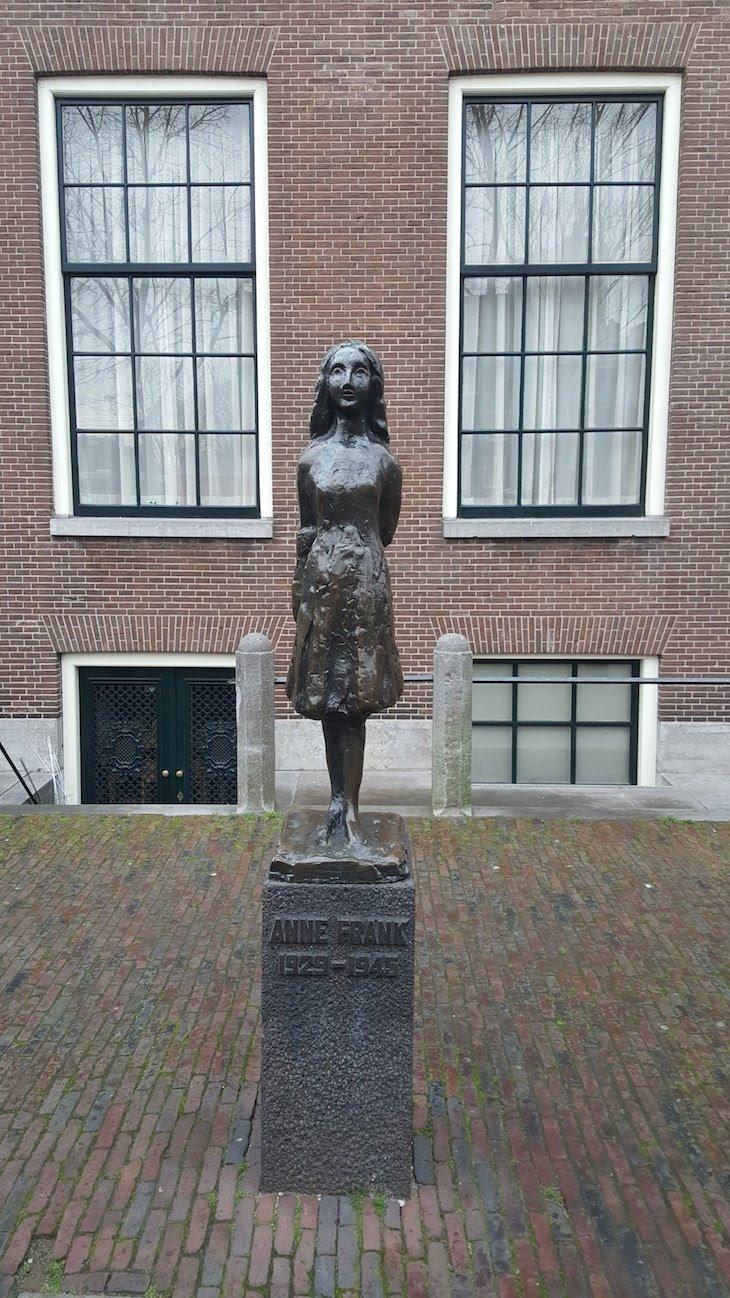 Casa de Anne Frank, Amesterdão © Viaje Comigo