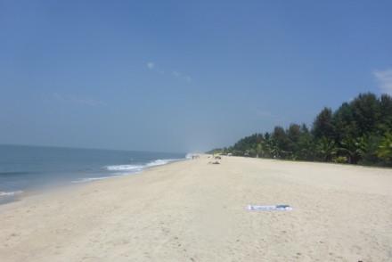 Praia Marari, Kerala, India © Viaje Comigo