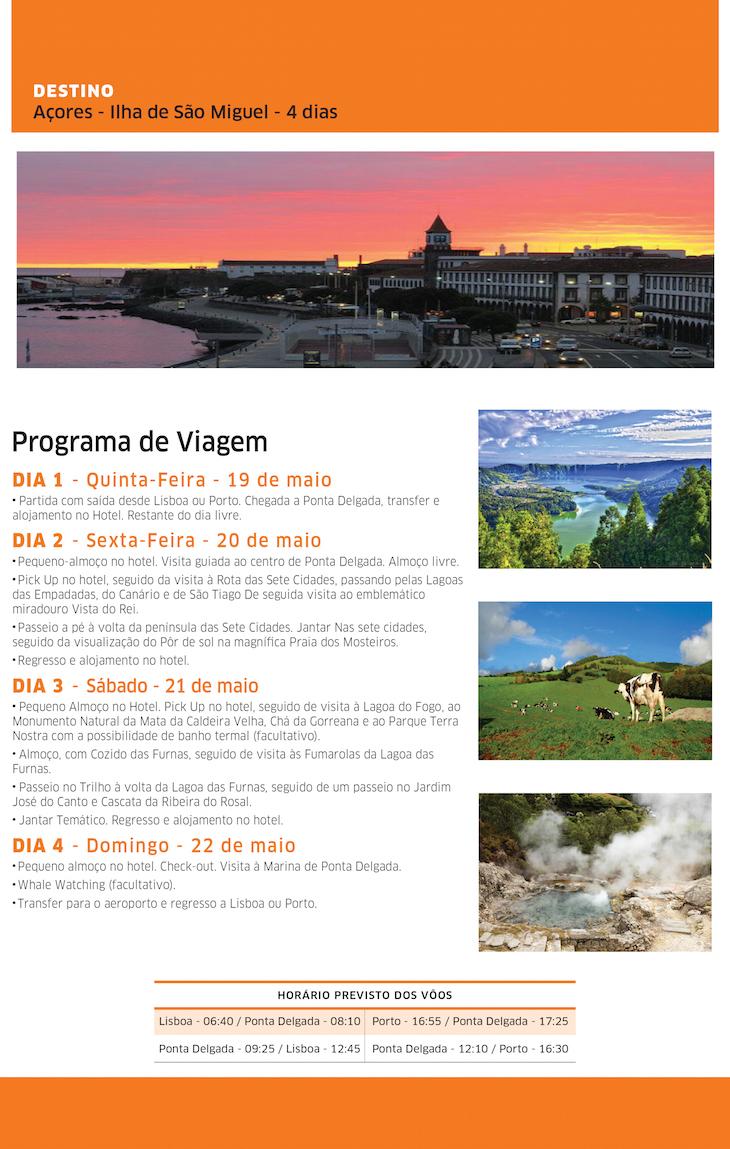 Viaje Comigo Açores Maio 2016