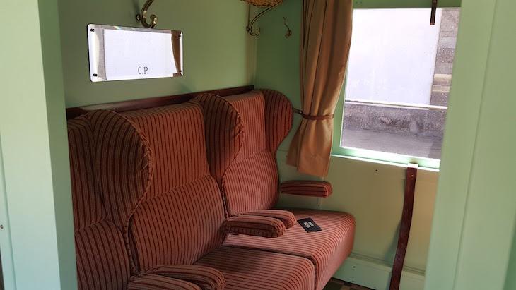 Carruagem no Comboio Presidencial © Viaje Comigo