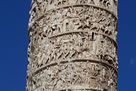 Coluna Antonina, de Marco Aurélio, Roma © Viaje Comigo