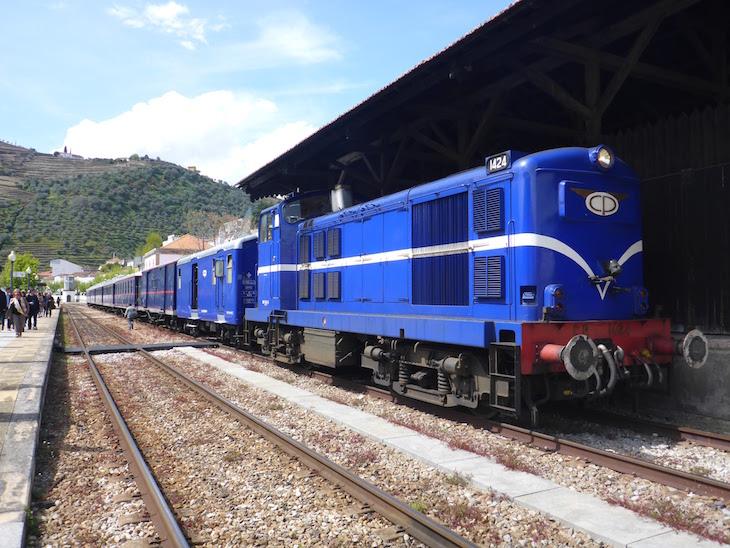 Comboio presidencial no Pinhão © Viaje Comigo