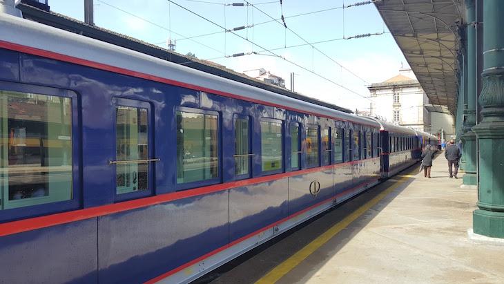 Comboio presidencial em São Bento, Porto © Viaje Comigo