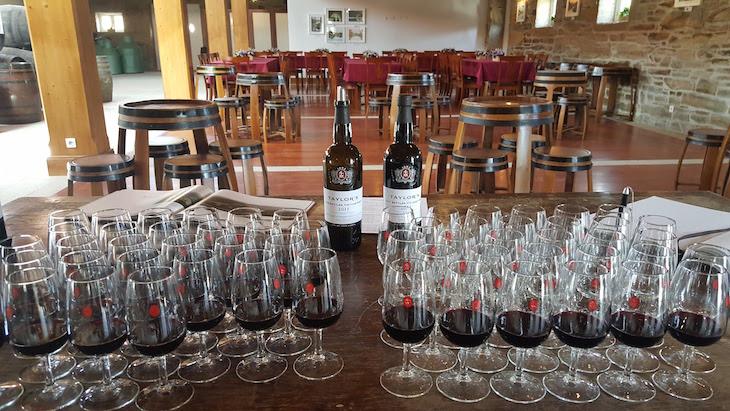 Prova de vinhos Taylor's na Roêda © Viaje Comigo