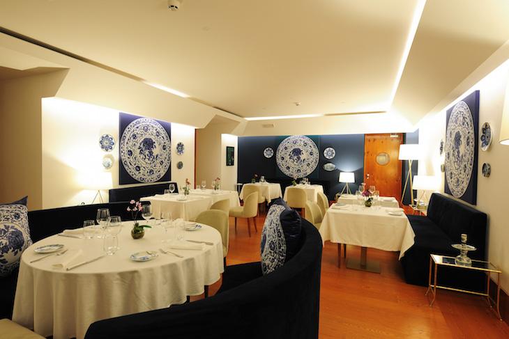 Restaurante Ânfora do Palácio do Governador, Lisboa © DR