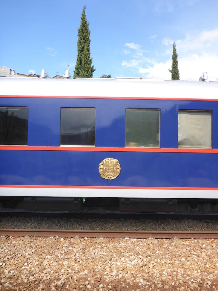 Símbolo do comboio presidencial © Viaje Comigo