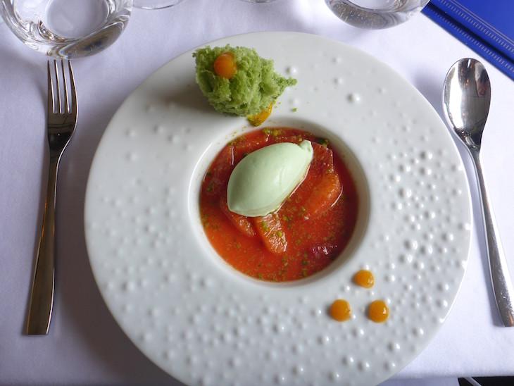 Sobremesa do Vila Joya no comboio presidencial © Viaje Comigo