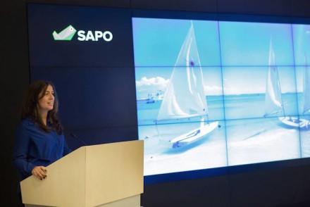 Susana Ribeiro do Viaje Comigo na Apresentação Sapo Viagens © DR Portugal Telecom : Sapo