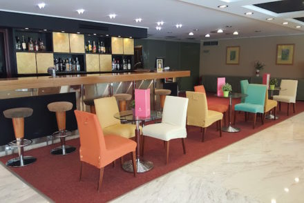 Bar do Hotel Airotel Alexandros, Atenas, Grécia © Viaje Comigo