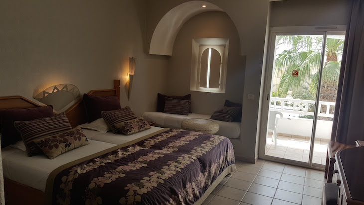 Quarto do Vincci Djerba Resort © Viaje Comigo