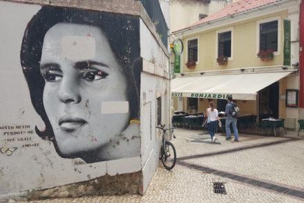 Pintura de Amália © Lisboa © Viaje Comigo