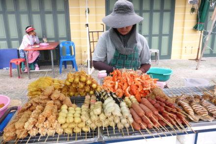 Espetadas em Banguecoque, Tailândia © Viaje Comigo