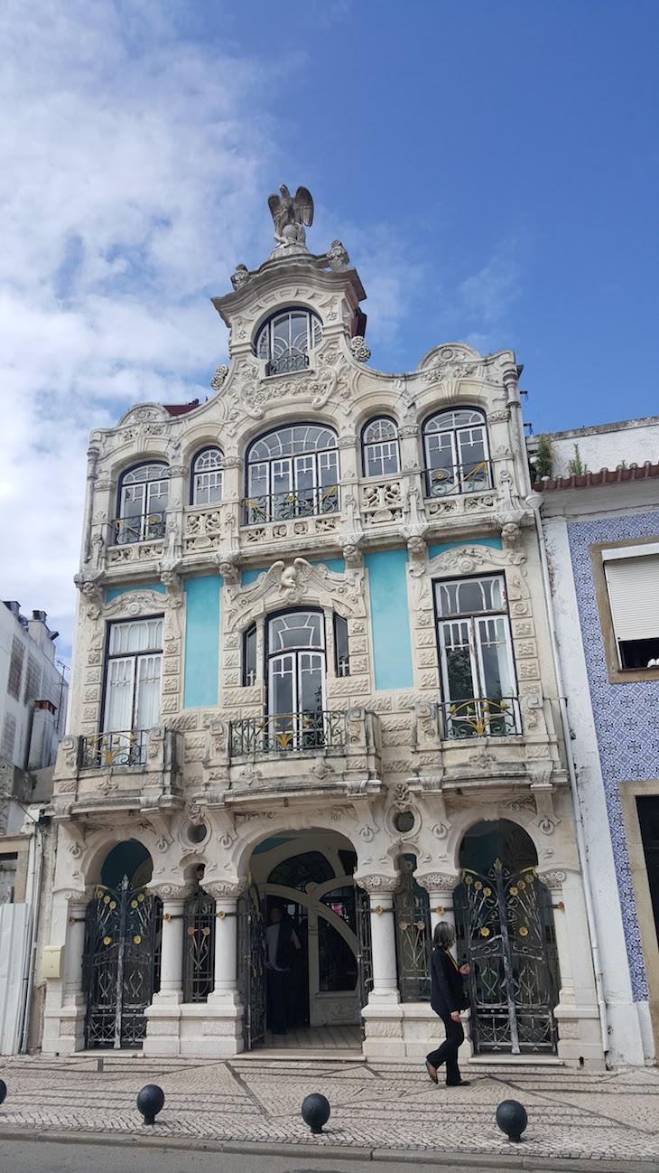 Edifício do Museu de Arte Nova de Aveiro © Viaje Comigo