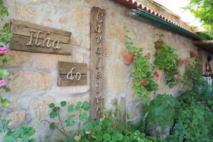 Entrada da Ilha do Cavaleiro, Chaves © Viaje Comigo