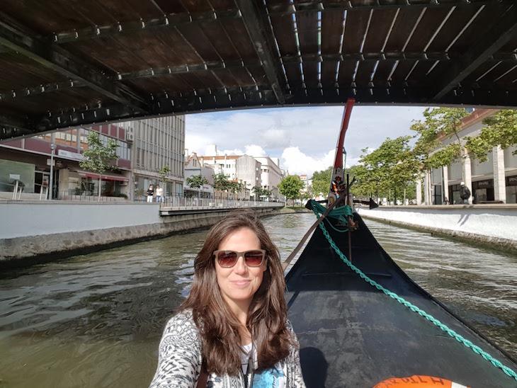 Susana Ribeiro no moliceiro - Aveiro © Viaje Comigo