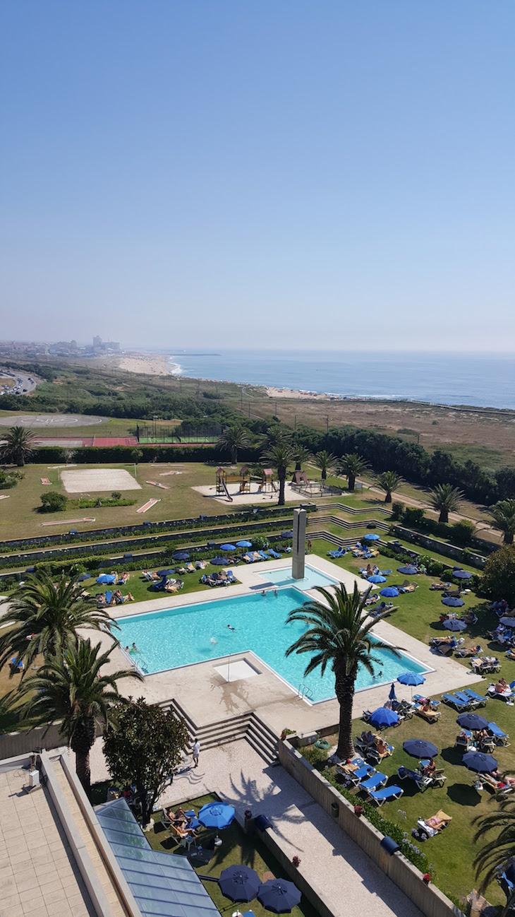 Vista do Hotel Solverde © Viaje Comigo