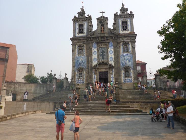 Igreja de Santo Ildefonso no Porto © Viaje Comigo