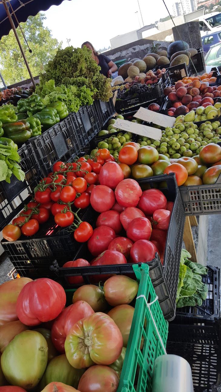 Legumes no Mercado da Afurada, Vila Nova de Gaia © Viaje Comigo