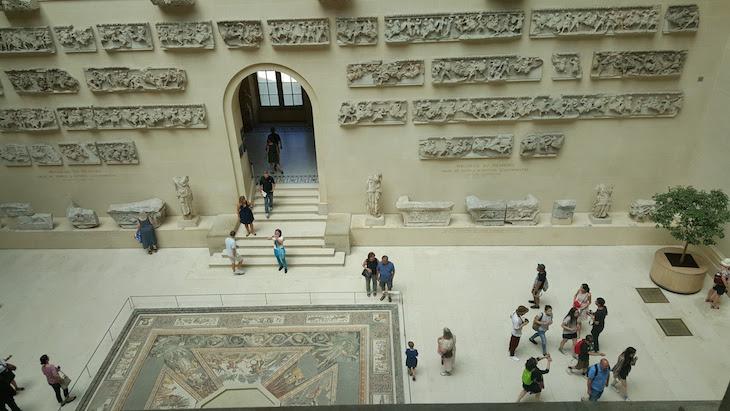 Mosaicos romanos - Museu do Louvre, Paris © Viaje Comigo