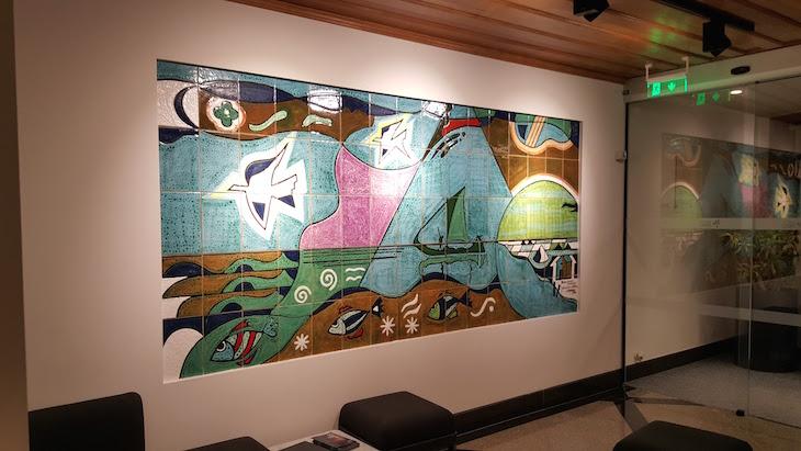 Mural de azulejos no Hotel das Salinas, Aveiro © Viaje Comigo ®