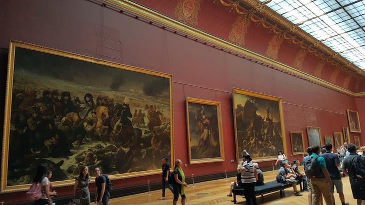Napoleão por Antoine-Jean Gros - Museu do Louvre, Paris © Viaje Comigo