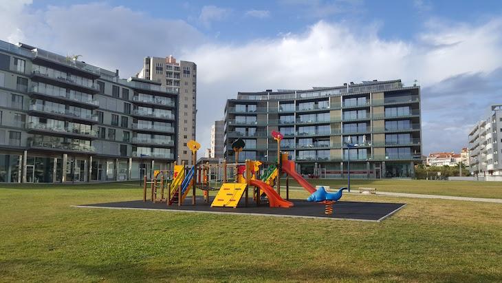 Parque infantil da Fonte Nova - Aveiro © Viaje Comigo